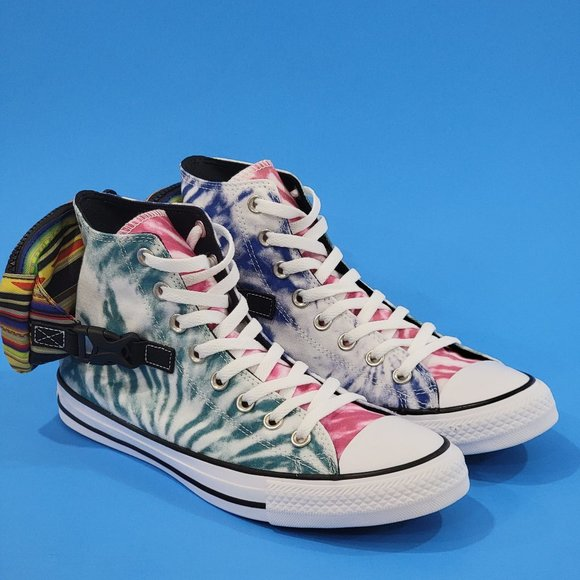Converse CTAS Hi Buckle Up Dye Classic Sneaker NWT